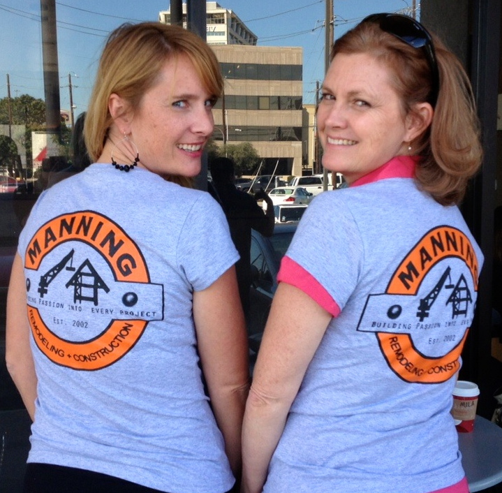 Manning Remodeling and Construction Tshirt - back
